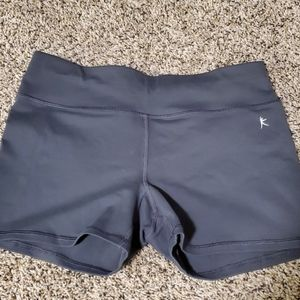Fitted stretchy shorts
